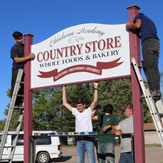 Oklahoma Academy Country Store Moving Forward