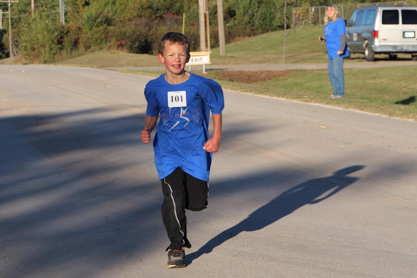 Oklahoma Academy 2018 5K Kid Runner