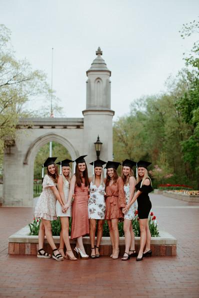 IU Bloomington Graduation Photos