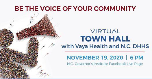 virtual Town Hall with Vaya Health and N