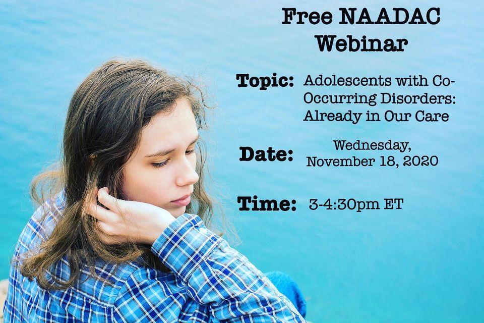 free NAADAC Webinar