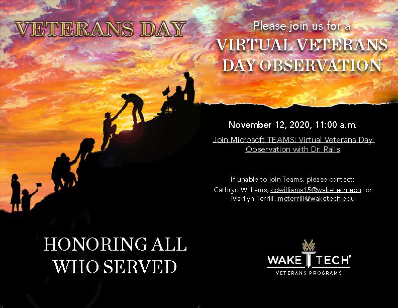 Vetrans Day celebrations