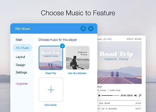 Wix Music Overview | WIX App Market | Wix com