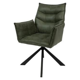 Eetkamer stoel 4 groen