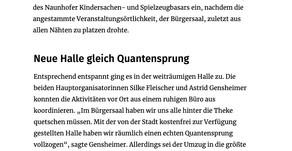 Leipziger Volkszeitung 09/2019