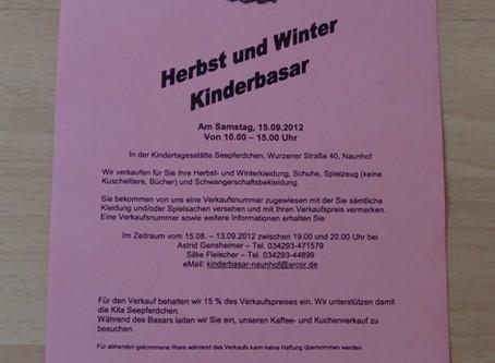 Herbst-/Winterbasar 09/2012