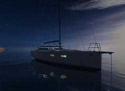 Viator Explorer 42 DS Nachtansicht