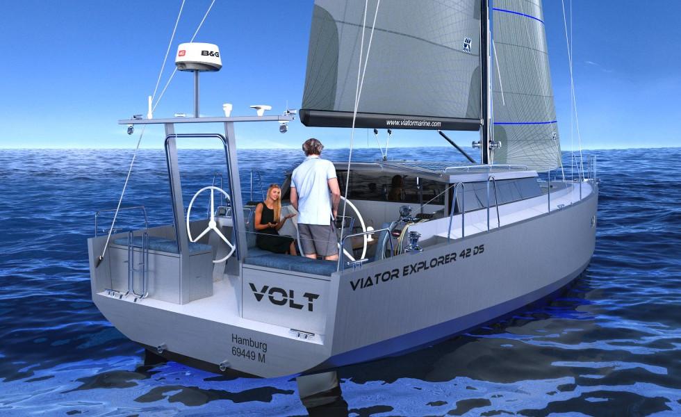 Viator Explorer 42 DS Aussenansicht
