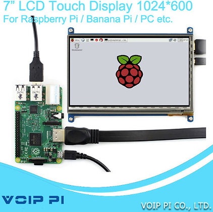 "7"" Screen for Raspberri Pi Banana Pi"
