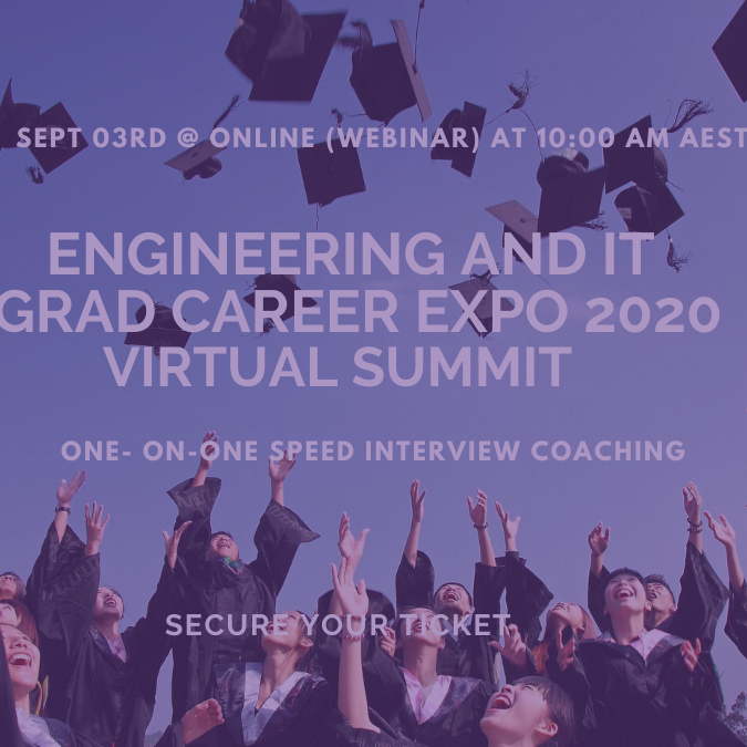 Engineering & IT Graduate Career Expo (Virtual Summit)