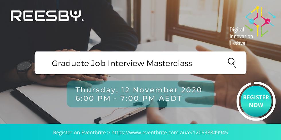 Job Interview Tips Master Class