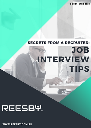Job Interview Tips E-book