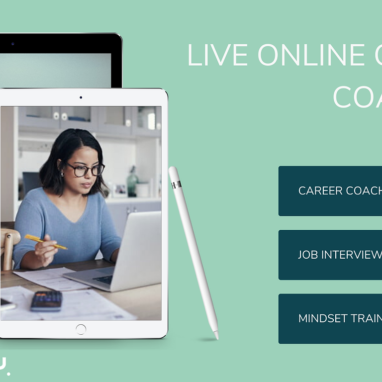 Live Online Career Coaching