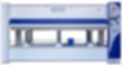 Prensa térmica hidráulica marca OMC Machinery