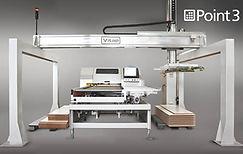 Centro de furação CNC com carga e descarga automática marca Vitap modelo Point 3