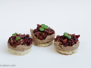 Chicken Liver Mousse Tarts
