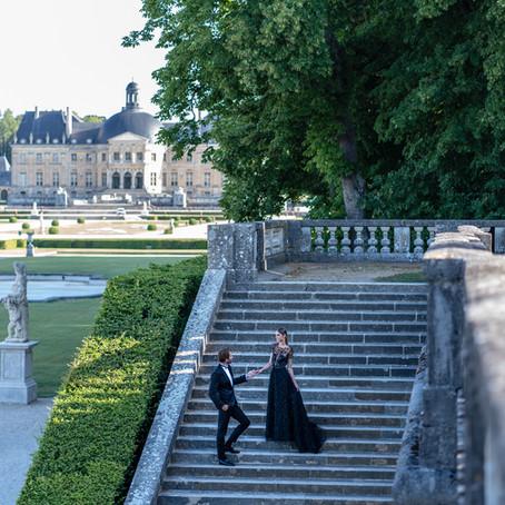 Fairy Tale French Chateau Vaux-le-Vicomte