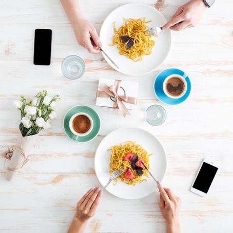 Dear Heidi: Can I have my phone on the table?