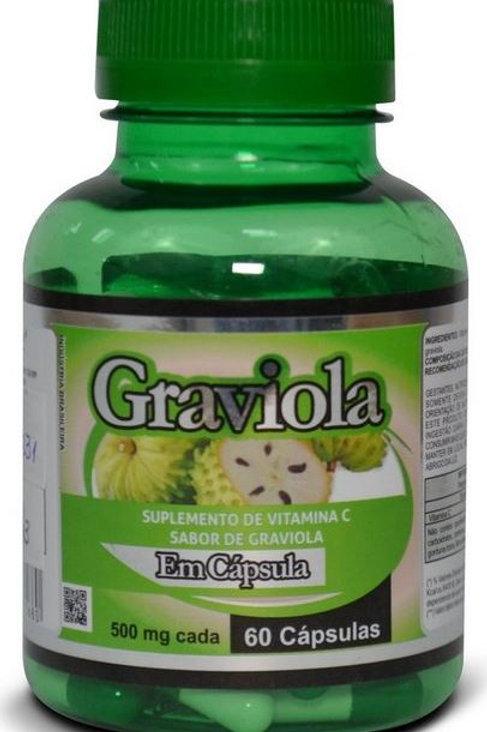 1231 - Graviola 500mg 60 Cápsulas