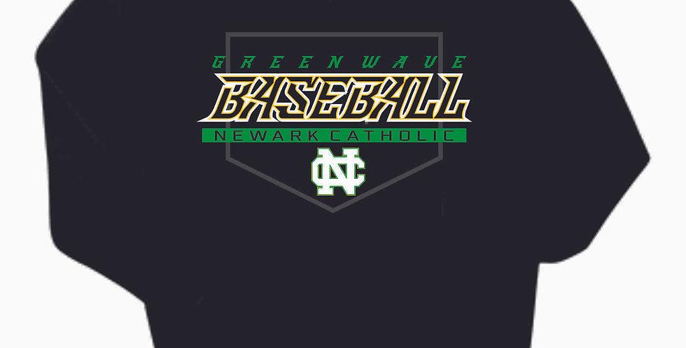 Newark Catholic Baseball Black Cotton Hoody