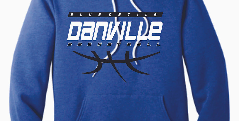 Danville Basketball Royal Soft Hoody