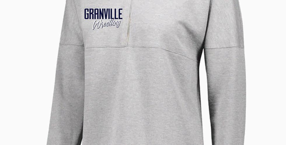 Granville Wrestling Ladies Grey Sophomore Pullover