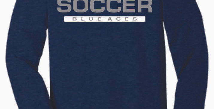 Granville Soccer Navy Soft Longsleeve