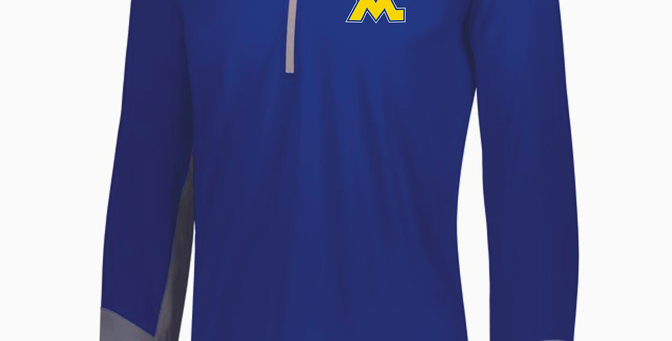 West M Middle School Royal Hybrid Pullover