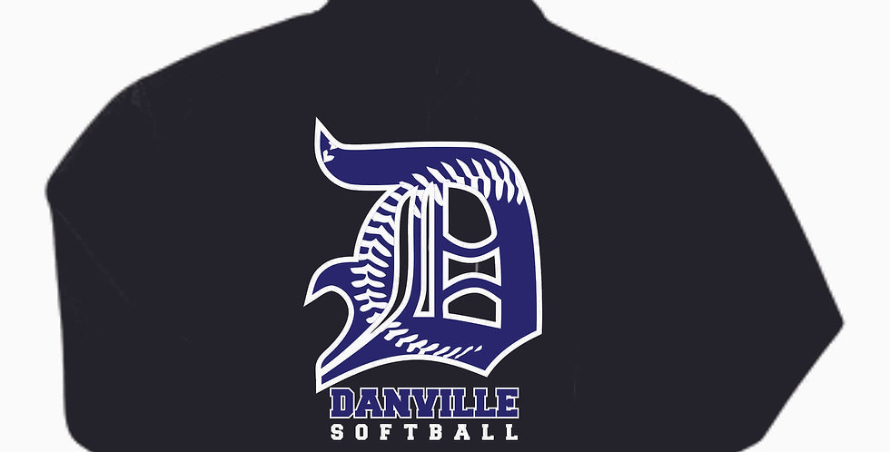 Danville Softball Cotton Black Hoody
