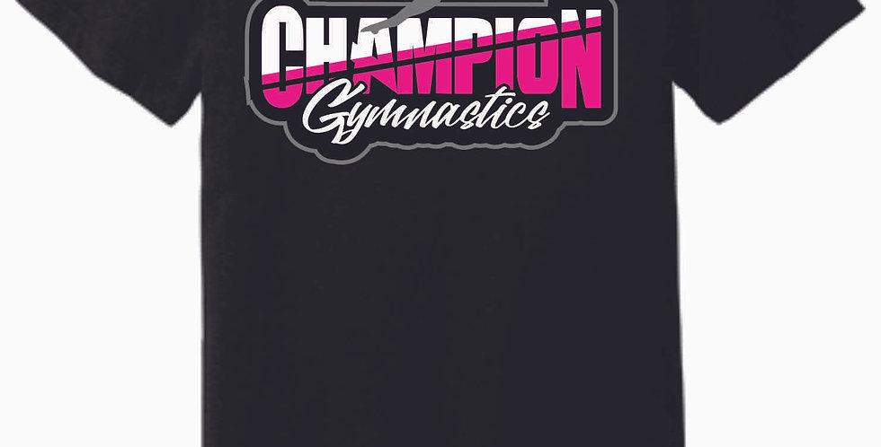 Champion Gymnastics Black Soft T
