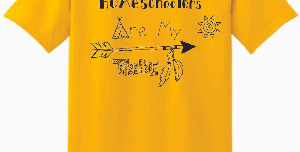 Homeschool My Tribe Daisy Yellow T Shirt