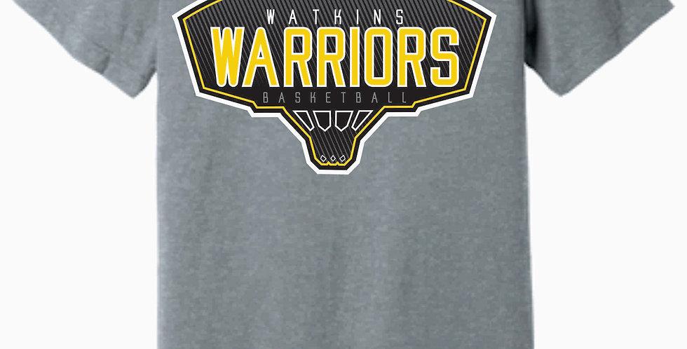 Watkins Youth Basketball Grey Soft T-shirt