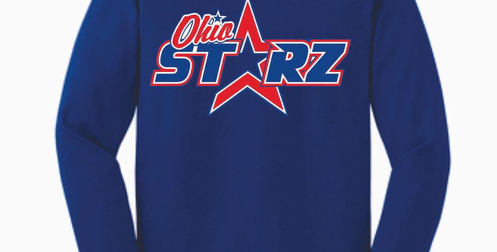Ohio Starz Royal Logo Cotton Longsleeve