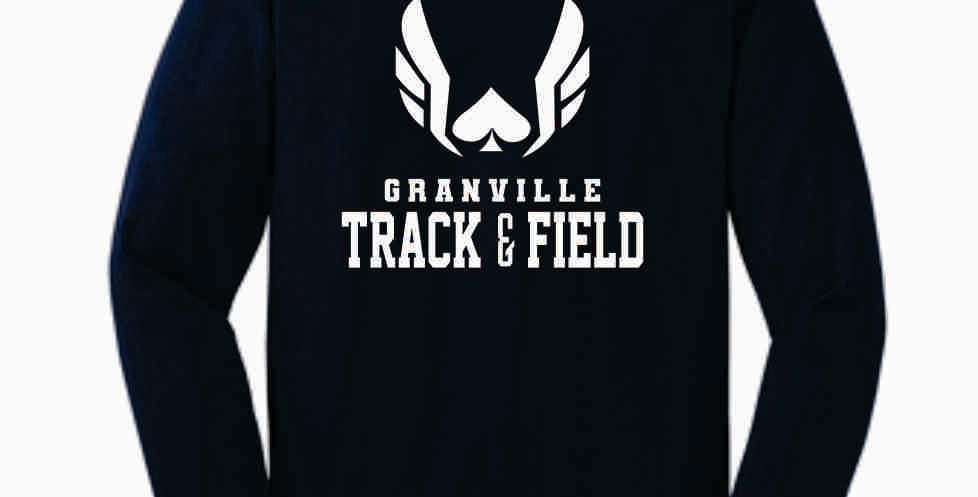 Granville Track and Field Original Navy Longsleeve