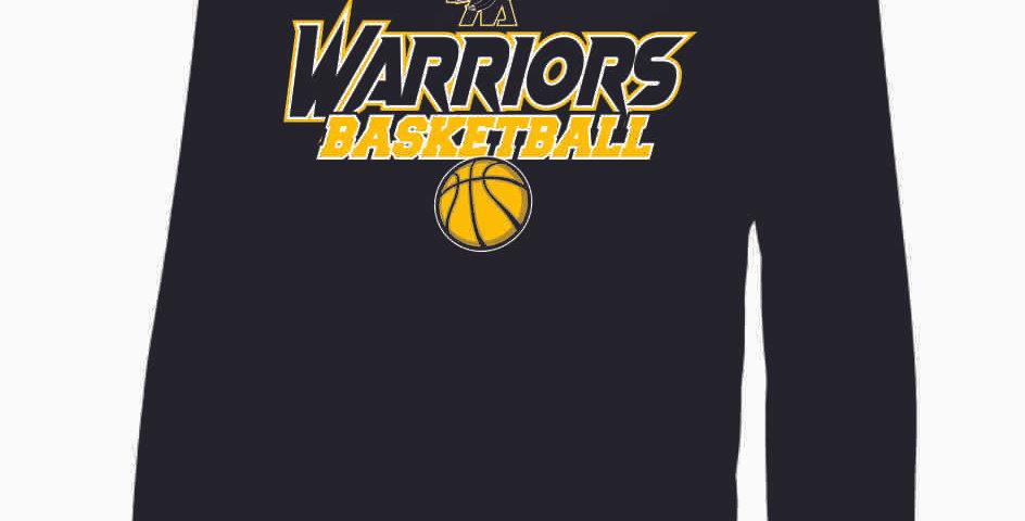 Watkins Youth Basketball Black Youth Poly Hood