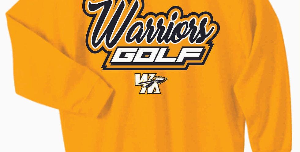 Watkins Golf Gold Cotton Sweatshirt