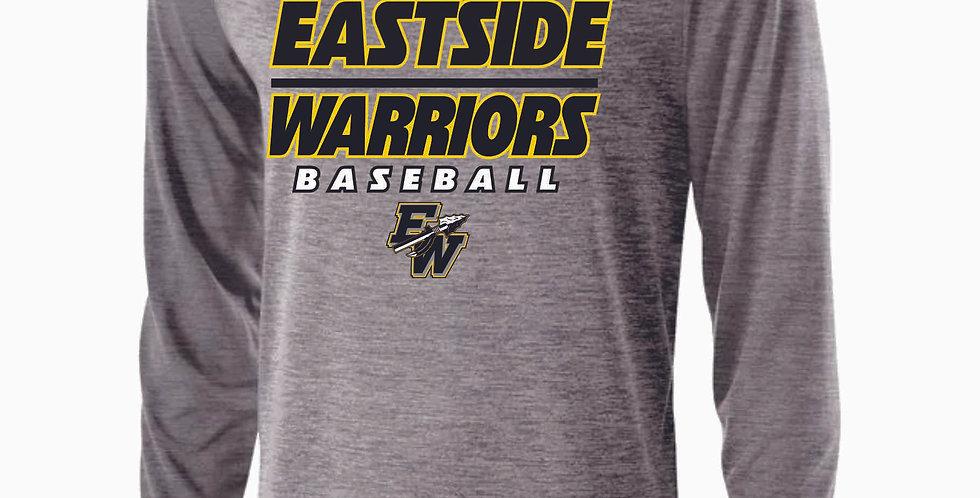 Eastside Warriors Grey Dri Fit Longsleeve