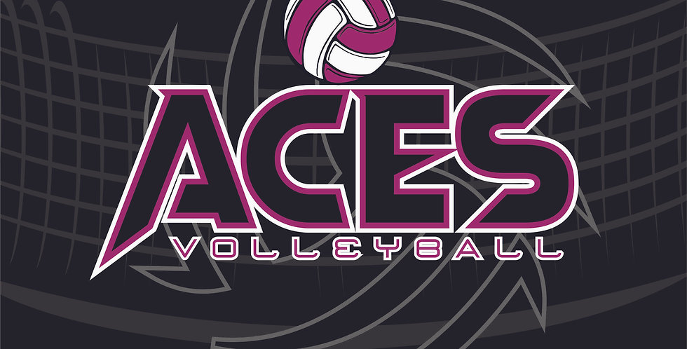 Aces Volleyball Sublimated Blanket