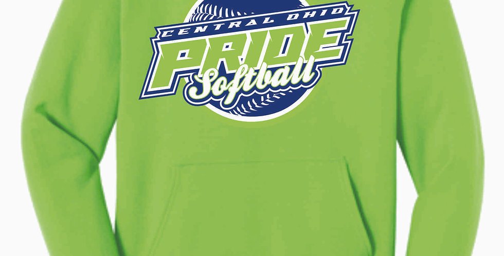 Pride Neon Green Cotton Hoody