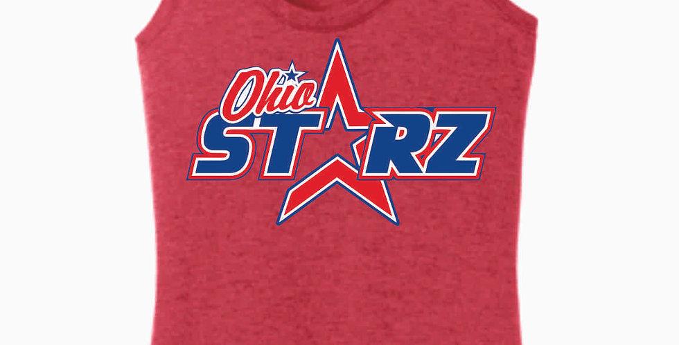 Ohio Starz Red Logo Women's Tank