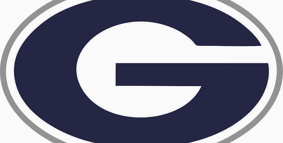Granville Wrestling Head Gear Decal