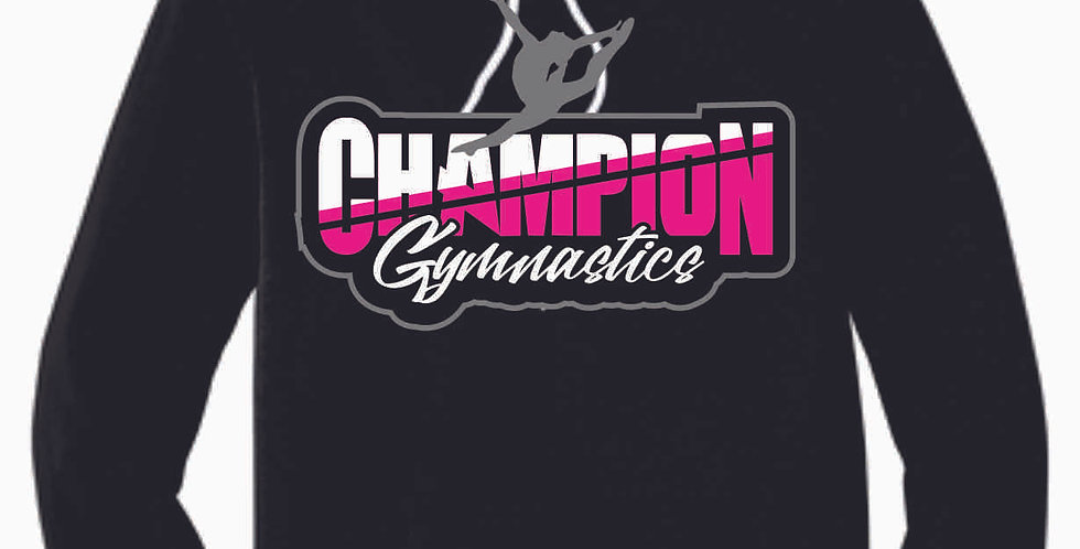 Champion Gymnastics Black Soft Hoody