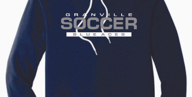 Granville Soccer Navy Soft Hood