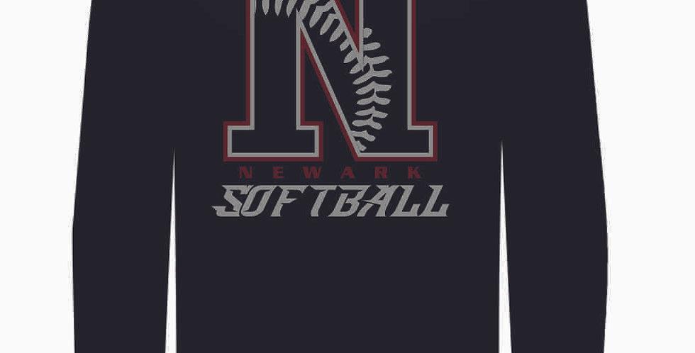 Newark Softball Black Dri Fit Longsleeve