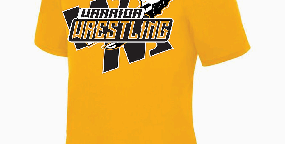 Watkins Youth Wrestling Gold Dri Fit Shortsleeve