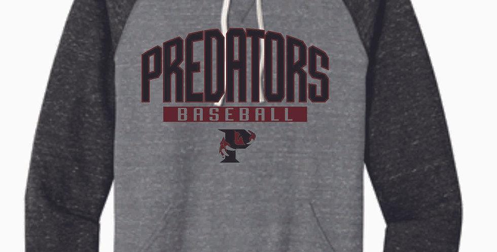 Predators Grey/Black Soft Vintage Hood
