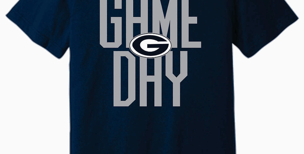 Blue Aces Soft Game Day Navy T shirt