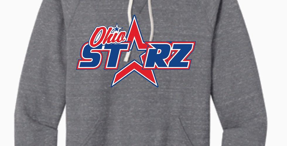 Ohio Starz Grey Logo Snow Heather Hood