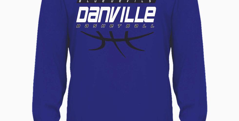 Danville Basketball Royal Longsleeve Dri Fit