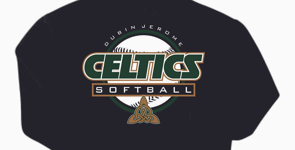 Dublin Jerome Softball Black Cotton Hoody
